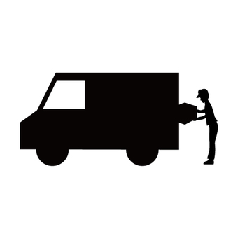 Delivery image (silhouette)