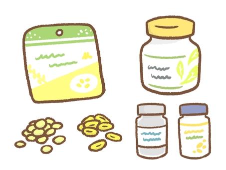 サプリメントやビタミン剤など