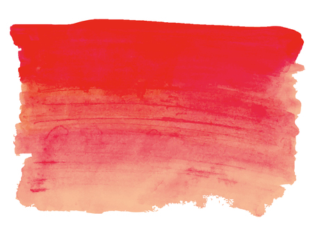 Background watercolor hand-painted texture wallpaper red brush paint