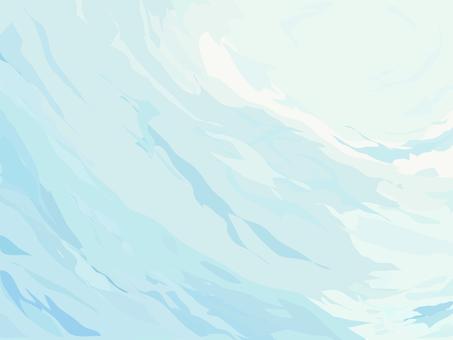 背景水波纹和光闪闪发光