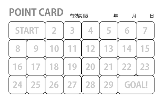 30 points card (85 × 54)