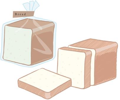 食パン イラスト