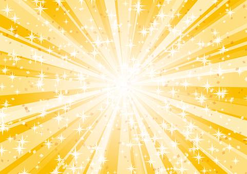 Sparkling radiation