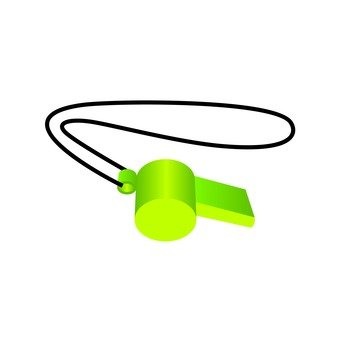 Mountaineering Supplies - Whistle (Green)