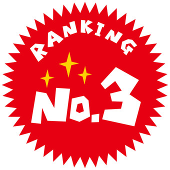RANKING NO.3 icon mark