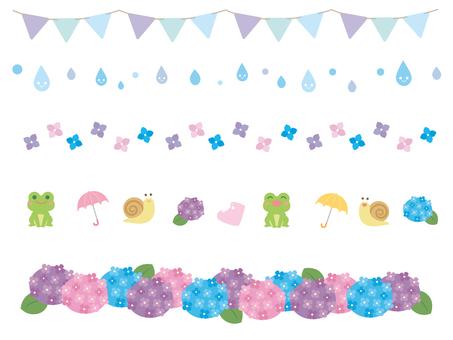 Rainy season line material 1