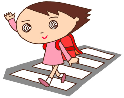 Elementary schoolcharacters · Traffic safety