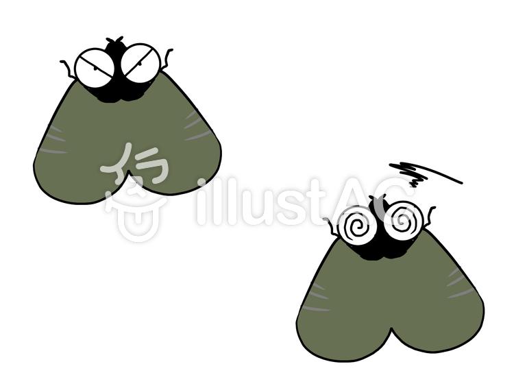 害虫・チョウバエのイラスト