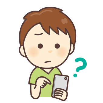 Children smartphone operation question