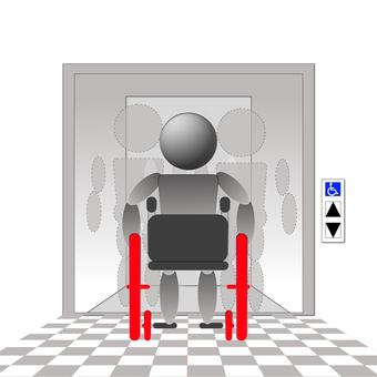 Wheelchair elevator 6