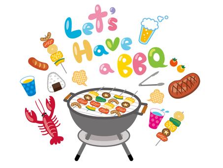 Barbecue set _ 2
