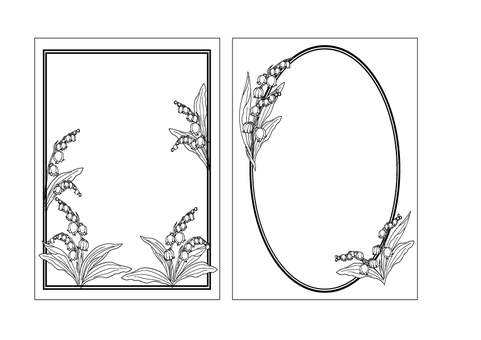 Suzuran's frame set ①