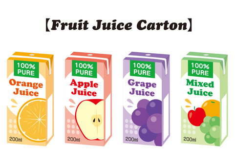 Pack juice set