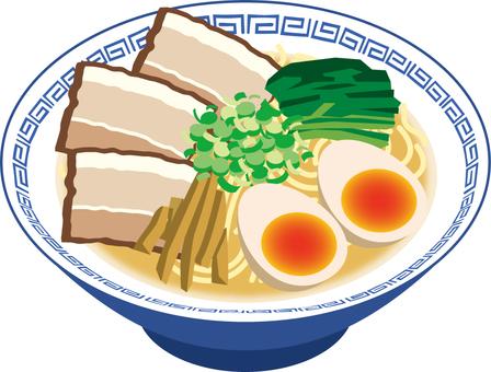 拉麺 豚骨 単品3