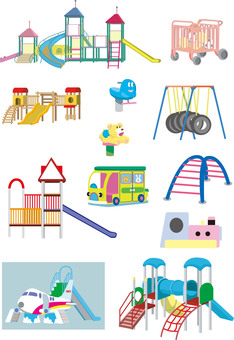 Nursery playground equipment set 3