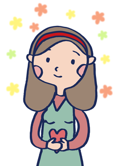하트를 가진 소녀 1