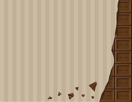 Board chocolate frame _ border