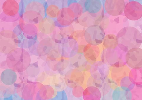 粉色圓點背景