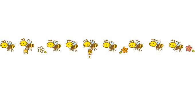 ミツ運びハチさんたちボーダー