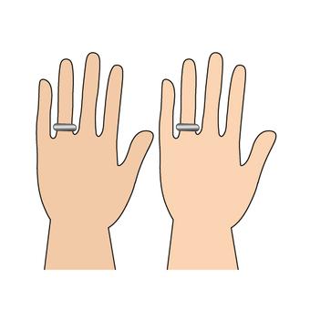 結婚戒指(同性婚姻的形象)