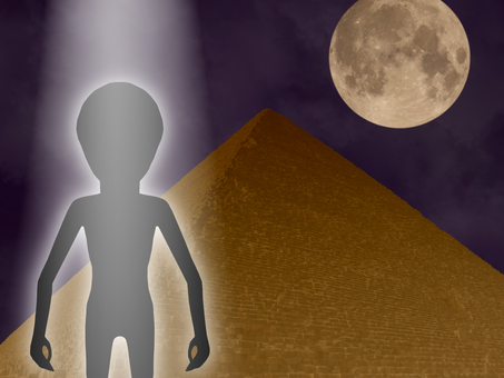 Egyptian pyramids and aliens