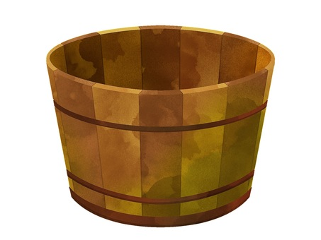 Illustration of a planter