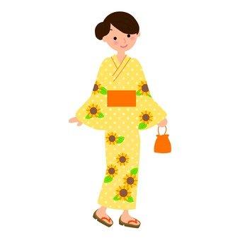 Yukata woman 02