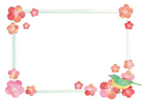 Plum _ pastel _ frame