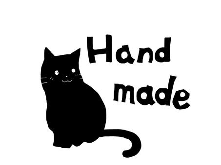 Cat's handmade stamp