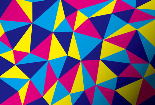 Polygon style ☆ Geometry ☆ Vivid background picture