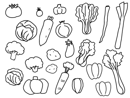 Vegetable (monochrome)