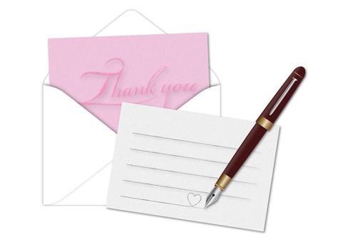 Letter (pink)