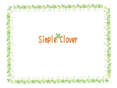 Clover frame
