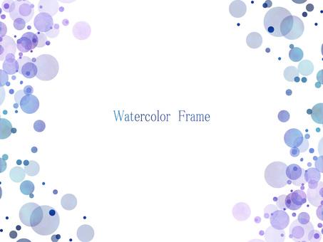 Watercolor frame ver 05