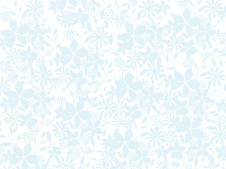 花卉图案 - 简单