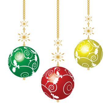 Christmas ornament color ball