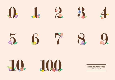 Numeral design 01
