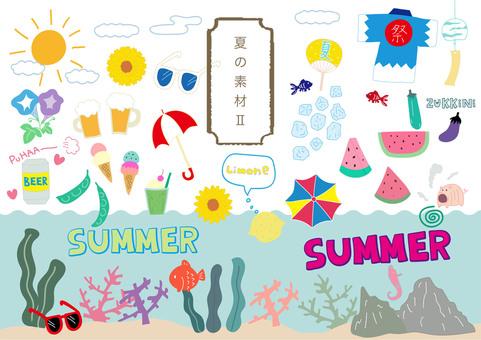 夏季材料002