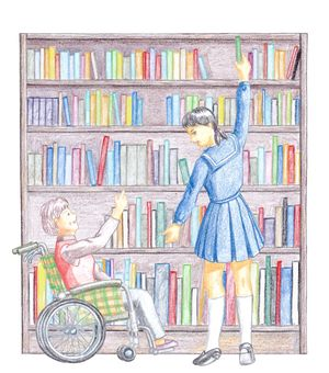 Library users / support