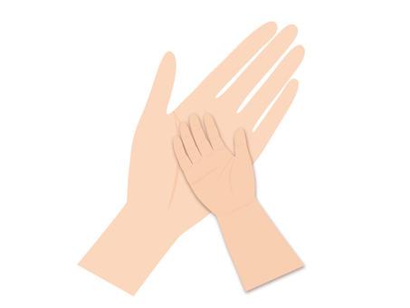 Hand and hand (children) 2