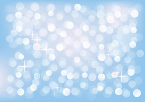 Simple round bokeh background ☆ blue