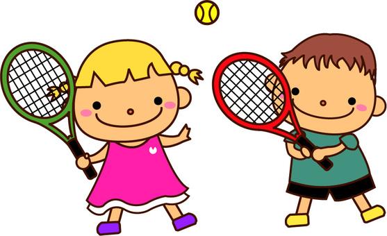 テニスしよう
