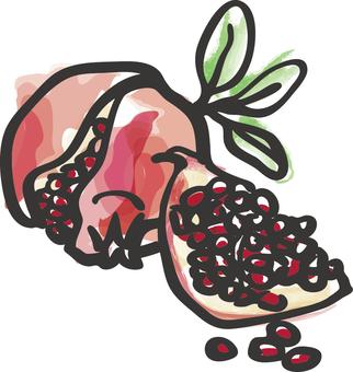 Food _ _ Pomegranate