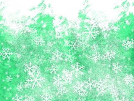 겨울 숲 (눈송이)