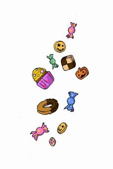 Halloween sweets set