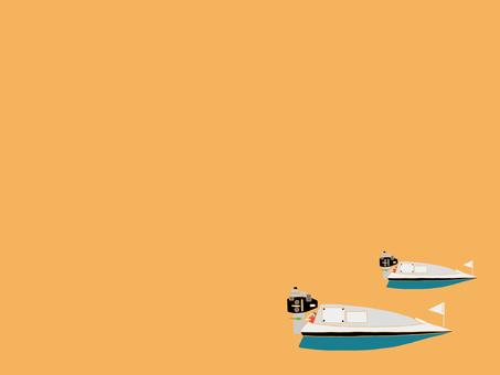 競艇ボート壁紙2