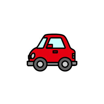 Car illustration (passenger car)