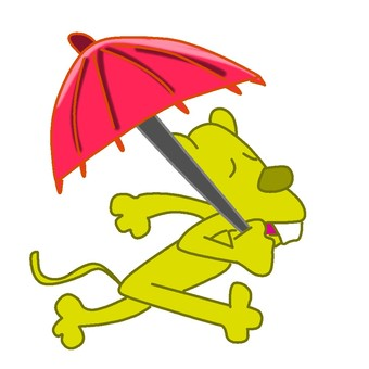 Umbrella mouse