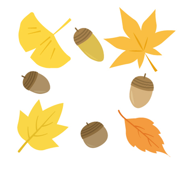 가을 일러스트 소재 40