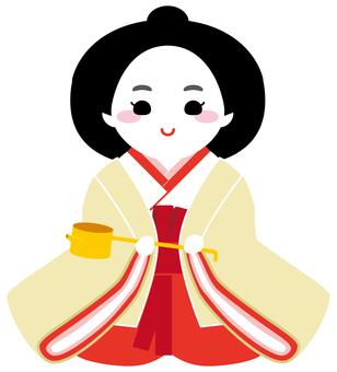 Three official women (Reiko Nagato)